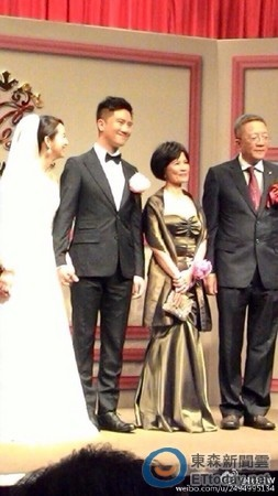 林依晨 結婚婚禮 禮服