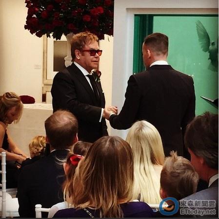 艾爾頓強結婚婚禮