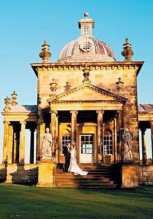 夢幻古堡、千年教堂 陪襯天王浪漫婚禮