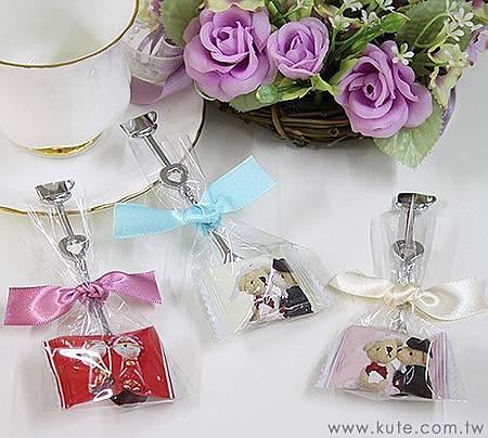 可艾婚禮小物 盛起甜蜜 茶匙喜糖 二次進場禮物