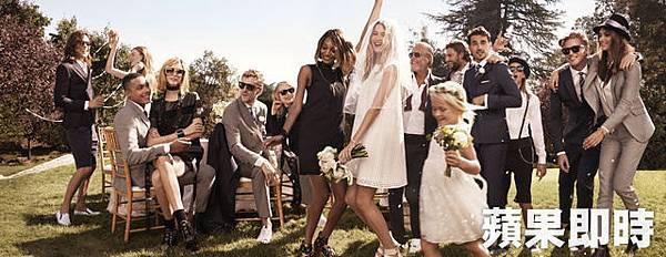 TOMMY HILFIGER 搖滾妹的夢幻婚禮這樣穿