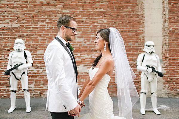 星際大戰 Star Wars 主題婚禮