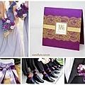 高雅紫色系婚禮 夢幻婚禮主題色系