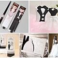 黑與白主題婚禮 新郎新娘主題婚禮 西式婚禮主題