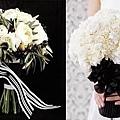 黑色系婚禮主題
