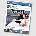 可艾婚禮設計 Instagram謝卡 - 分享婚紗謝卡