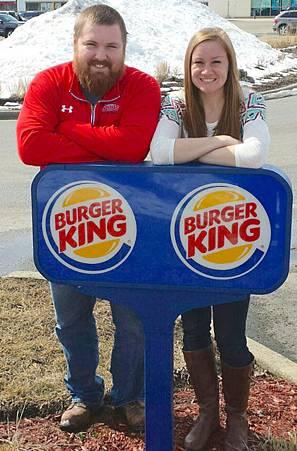 Burger&King聯姻大喜!漢堡王全額贊助婚禮