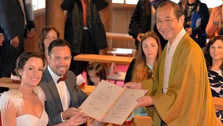 來去京都「結婚」吧! 免費證書有中文