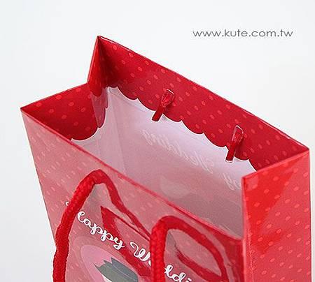 婚禮小物 手提袋 包裝袋 Q版新人娃娃