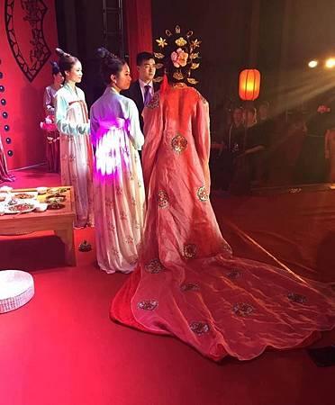 唐代婚禮儀式用具 中國婚禮吹唐風