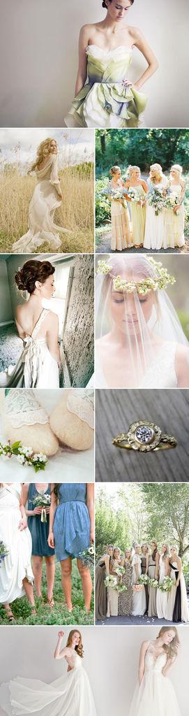 春季環保婚禮設計