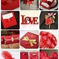喜氣紅色主題婚禮色系