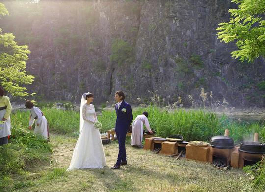 元彬 李娜英 結婚