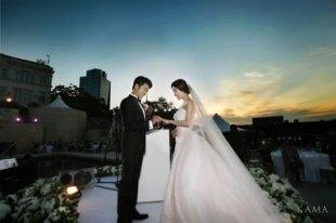 安在旭 婚禮