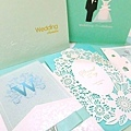 Tiffany藍 喜帖婚卡