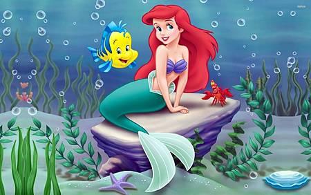 迪士尼童話公主-ariel