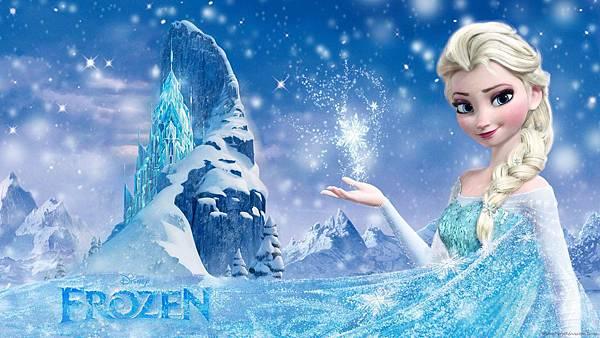迪士尼童話公主-elsa