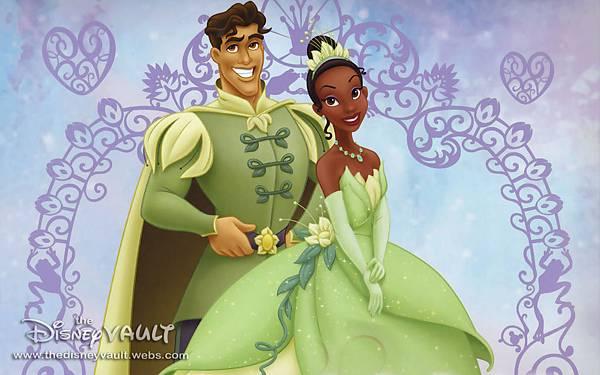 迪士尼童話公主-tiana
