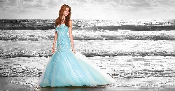 2015 Alfred Angelo 迪士尼童話公主婚紗禮服系列-ariel