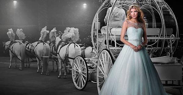 2015 Alfred Angelo 迪士尼童話公主婚紗禮服系列-cinderella