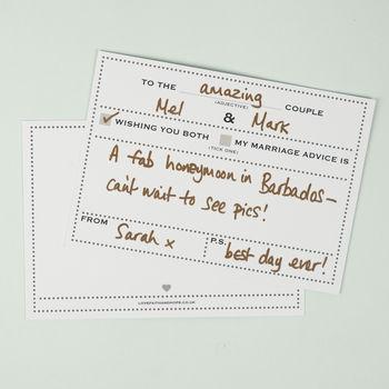 婚禮創意簽到留言簽名本