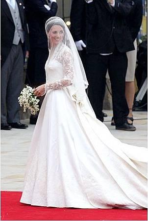全球10大最經典的婚紗禮服