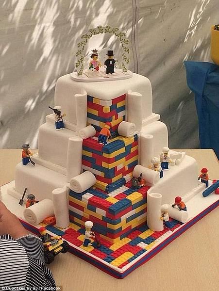 Lego 樂高 結婚蛋糕