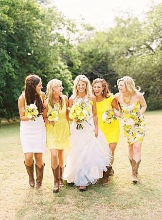主題婚禮 婚禮造型 新娘 伴娘