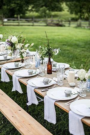 婚禮佈置 主題婚禮 餐桌佈置