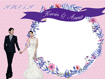 薰衣草婚禮主題-Frame-A1