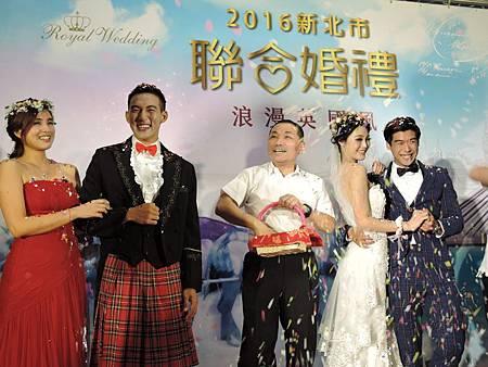新北聯合婚禮-英倫風主題婚禮-新聞照片-1-UDN