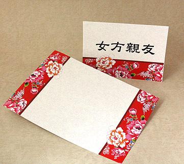 婚禮座位卡、婚宴桌卡-傳統客家花布000239.jpg