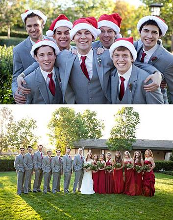 主題婚禮 聖誕婚禮 婚禮服裝造型.jpg