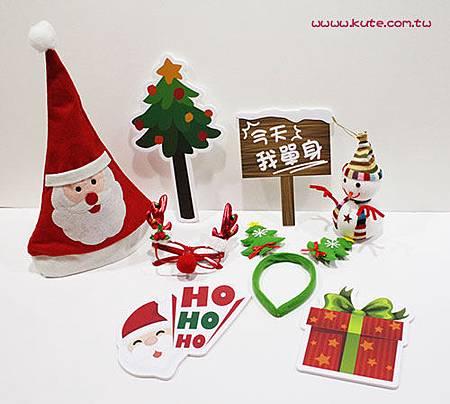 聖誕婚禮 聖誕拍照道具雪人組.jpg