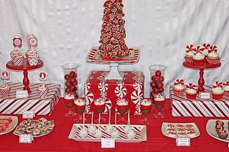 聖誕婚禮 主題婚禮 會場佈置 甜點佈置-2.jpg