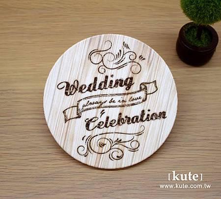 婚禮小物推薦 主題婚禮 吸水杯墊 鄉村風