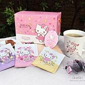 Hello Kitty 花草茶包茶杯組 婚禮小物