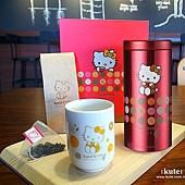 Hello Kitty 沐月紅包茶包茶杯組 婚禮小物