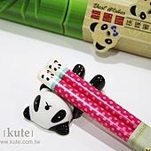 熊貓筷架組禮盒 婚禮小物