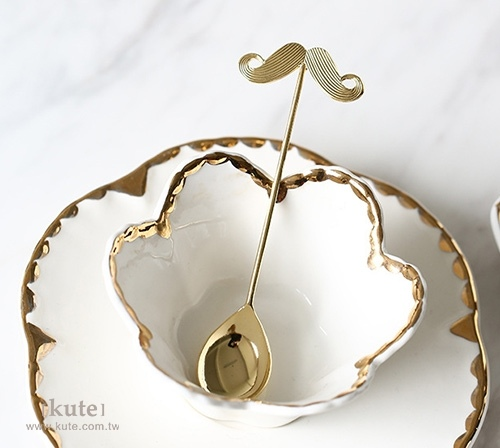 可艾婚禮小物 伴郎禮物 伴郎禮 兄弟禮 婚禮小物 紳士造型茶匙 紳士造型咖啡匙