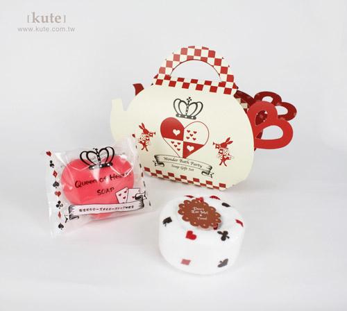 捧花禮 愛麗絲香皂茶壺沐浴組 香皂 婚禮小物 姊妹禮 可艾 伴娘禮