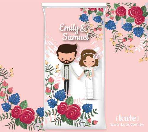 結婚喜米,喜米,喜米禮盒,婚禮小物,客製化婚禮小物,可艾婚禮