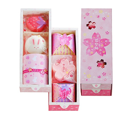 乙女箱,日本香皂禮盒,日本婚禮小物,婚禮小物,香皂禮盒,捧花禮,伴娘禮,姐妹禮,可艾婚禮