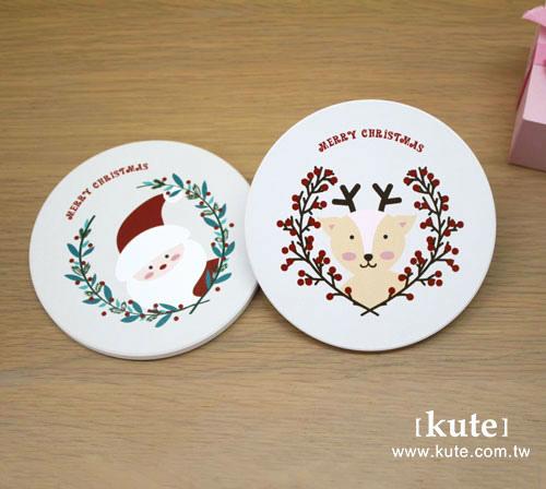 聖誕禮物 交換禮物 聖誕節 吸水杯墊 可艾婚禮