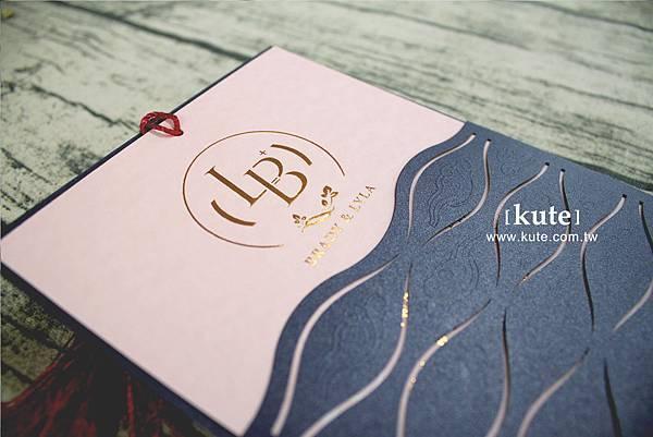 喜帖 喜帖設計 雷雕喜帖 燙金喜帖 客製喜帖 喜帖推薦 打凸印刷 可艾婚禮