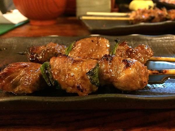 烤豬肉串20