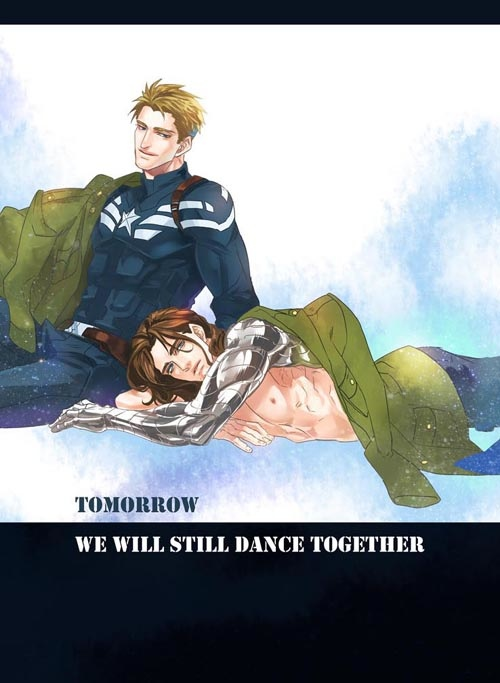 美國隊長跳舞封面