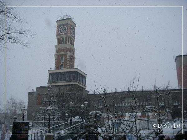 雪下的很誇張