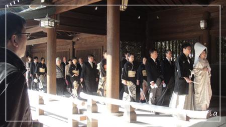 明治神宮婚禮