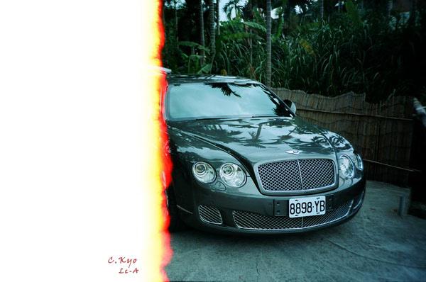 火燒Bentley